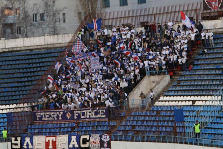 «Факел» оштрафовали заповедение болельщиков иотсутствие индивидуальных сидений настадионе