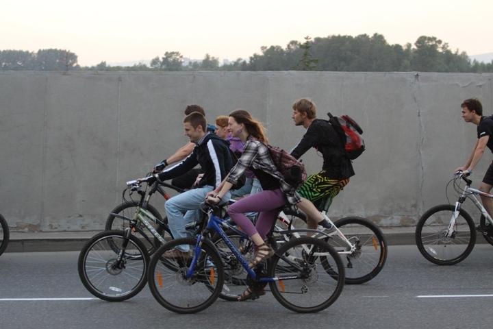 Оренбуржцы примут участие вакции «Велосветлячки»