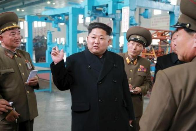 КНДР провела тестирования  нового мощного ракетного мотора