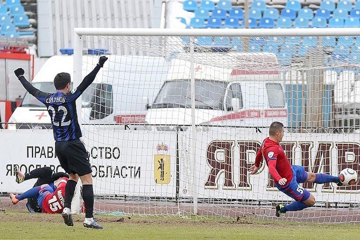 Ярославский «Шинник» одержал победу над «СКА-Хабаровск» вФНЛ