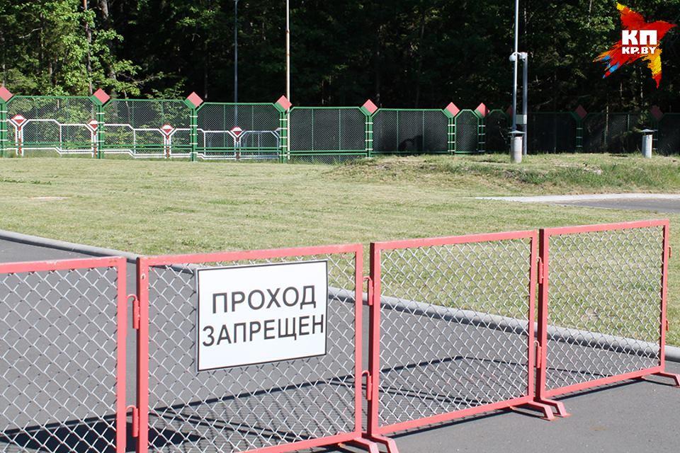 Награнице с республикой Белоруссией сострельбой задержали автомобиль из государства Украины