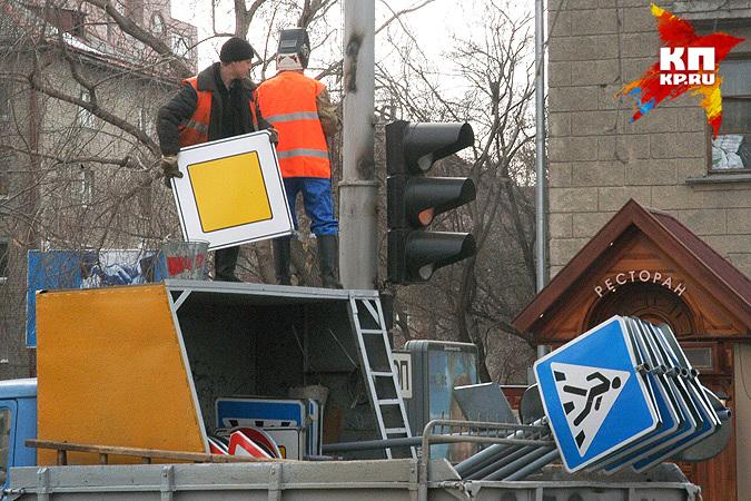ВНовосибирске одну изцентральных улиц сузят на4 метра