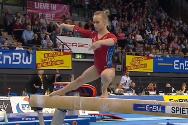 Воронежская гимнастка Ангелина Мельникова завоевало «серебро» вКубке мира
