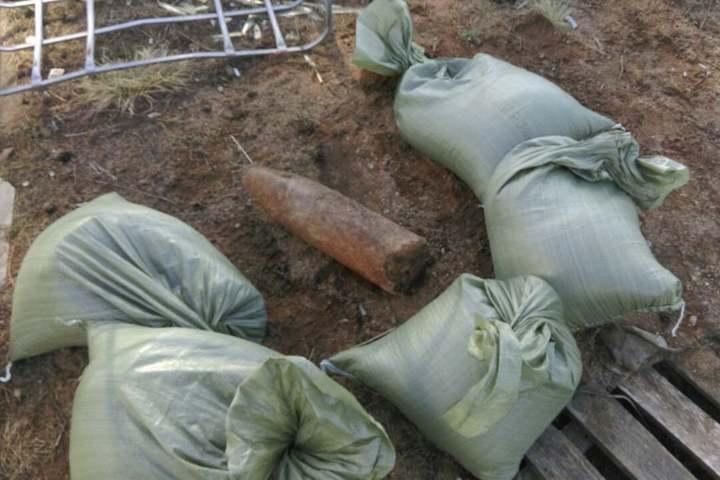 Снаряд от германской гаубицы отыскали настройплощадке вПетербурге