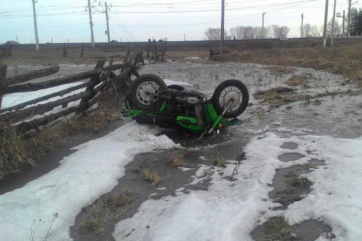 37-летний мотоциклист разбился вНижнеудинском районе