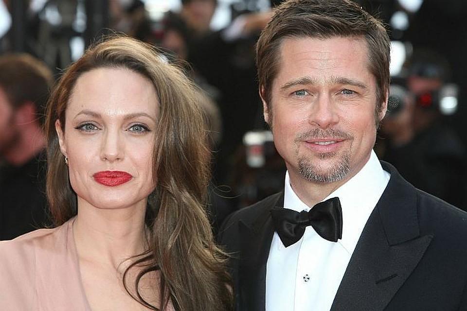 Брэд Питт и Анджелина Джоли воссоединились анджелина джоли и брэд питт