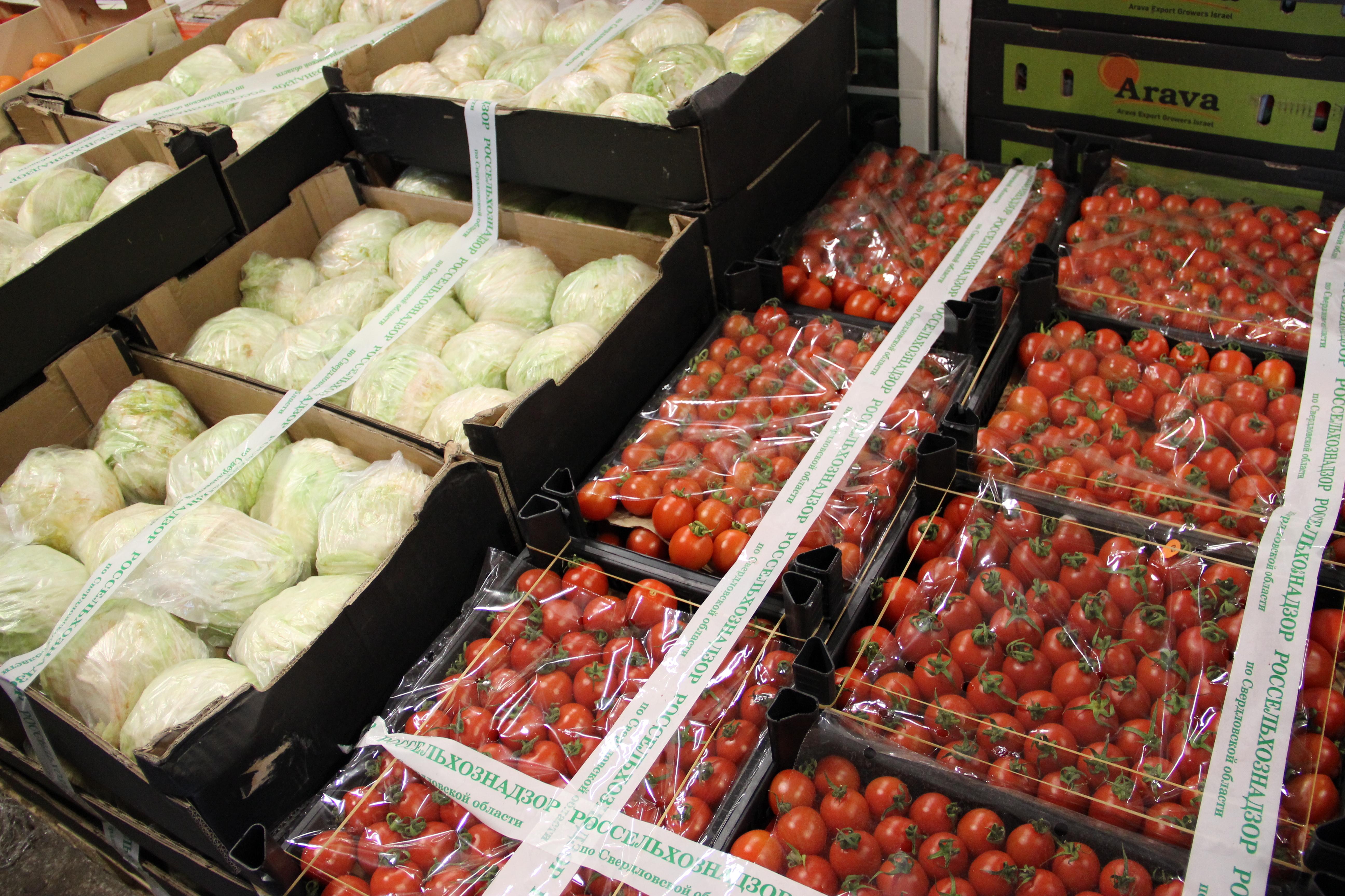 ВСаратове уничтожили тонну турецких помидоров, ввезенных из Республики Беларусь