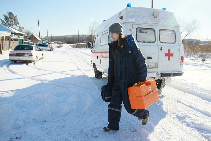Фельдшерам вчелябинских селах заплатят по 500 000 руб.