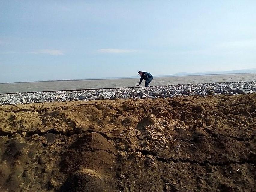 НаКубани снят режим ЧС, введенный из-за просевшей дамбы водохранилища