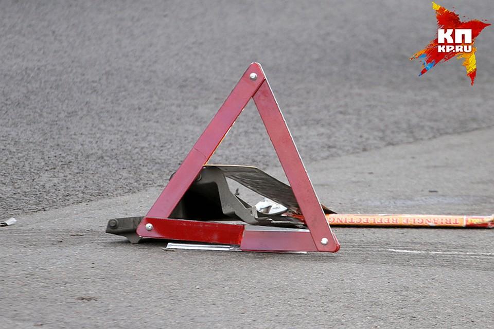 ВБрянске нетрезвый шофёр чуть неснес крест навъезде вгород