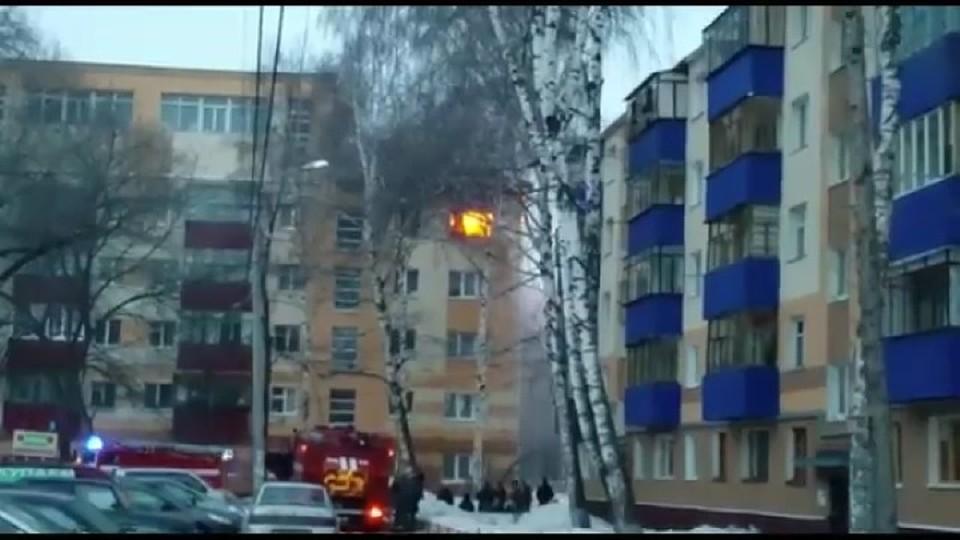 ВБашкирии дотла сгорела квартира в высотном многоэтажном здании