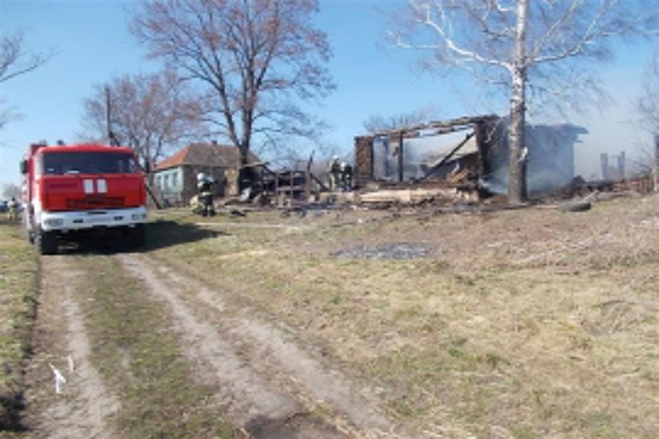 ВКурском районе напожаре пострадала 5-летняя девочка