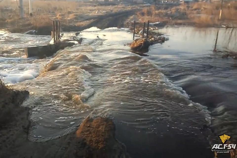 Дачные общества в 3-х  районах Новосибирска остаются под угрозой затопления