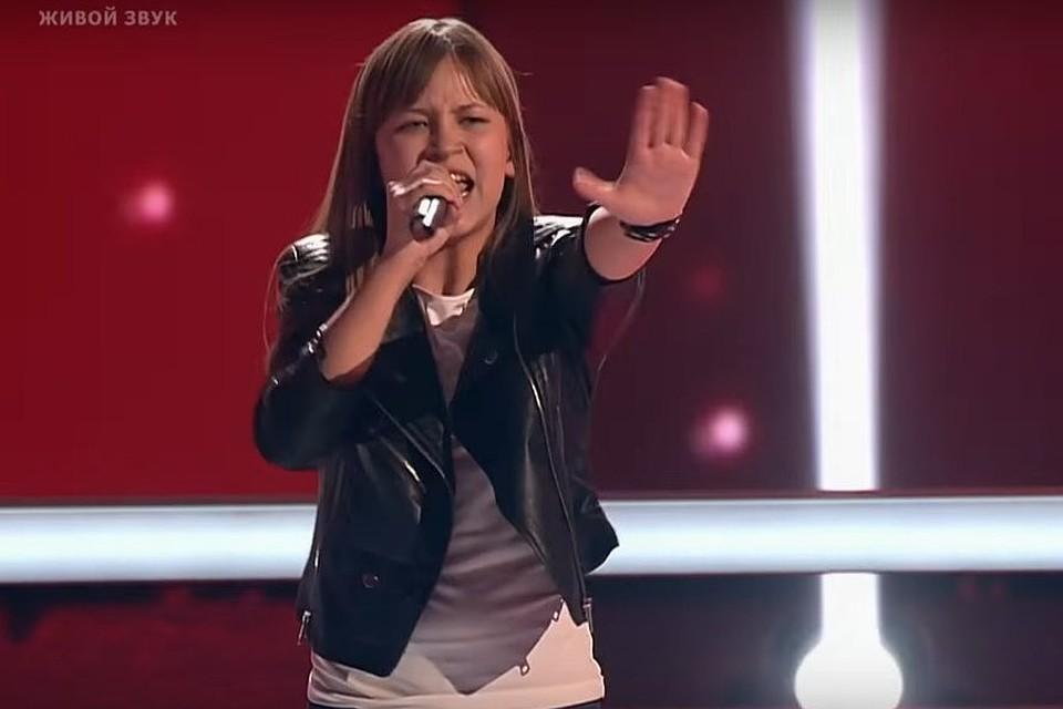 Школьница изНовороссийска Снежана Шин стала финалисткой шоу «Голос. Дети»