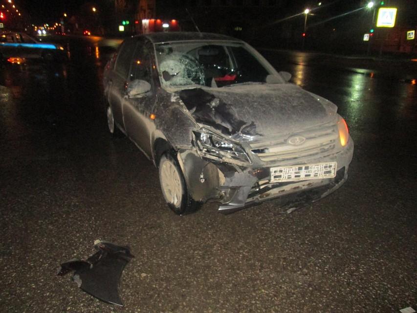 ВБерезниках шофёр сбил полицейского напешеходном переходе