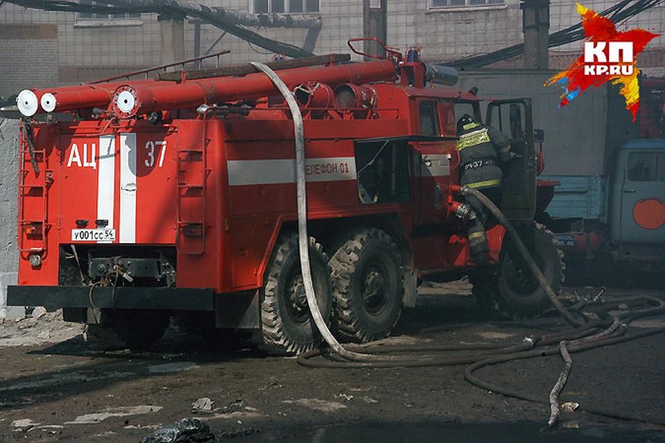 Семья с 2-мя детьми погибла впожаре вНовосибирской области