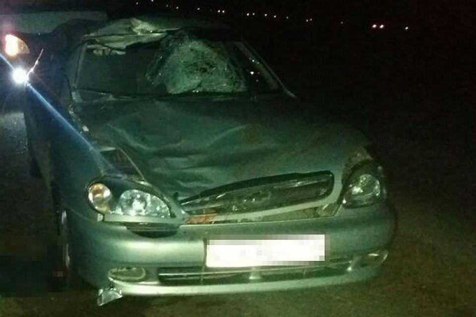 ВБашкирии двадцатилетний шофёр на Шевроле Lanos ночью насмерть сбил пешехода