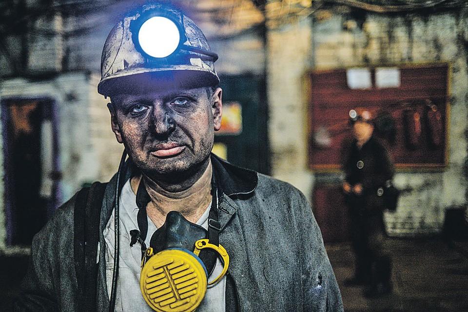 Шахтеры «Калиновской-Восточной» под Макеевкой выдают уголь на-гора, что бы ни творилось у них над головой...