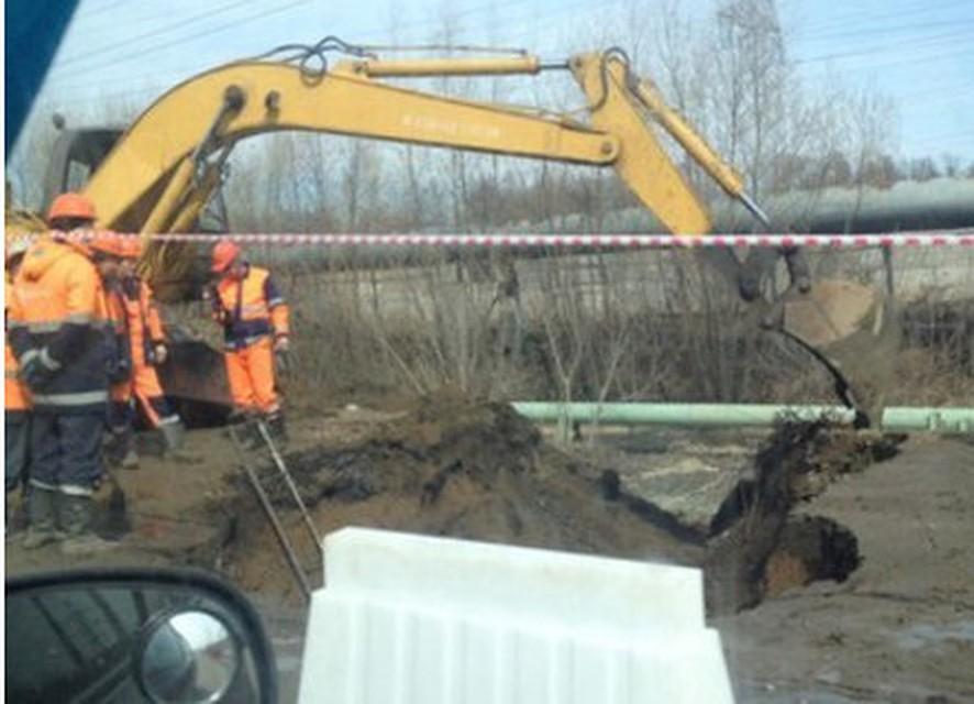 ВУфе наулице Сельской Богородской прорвало канализацию