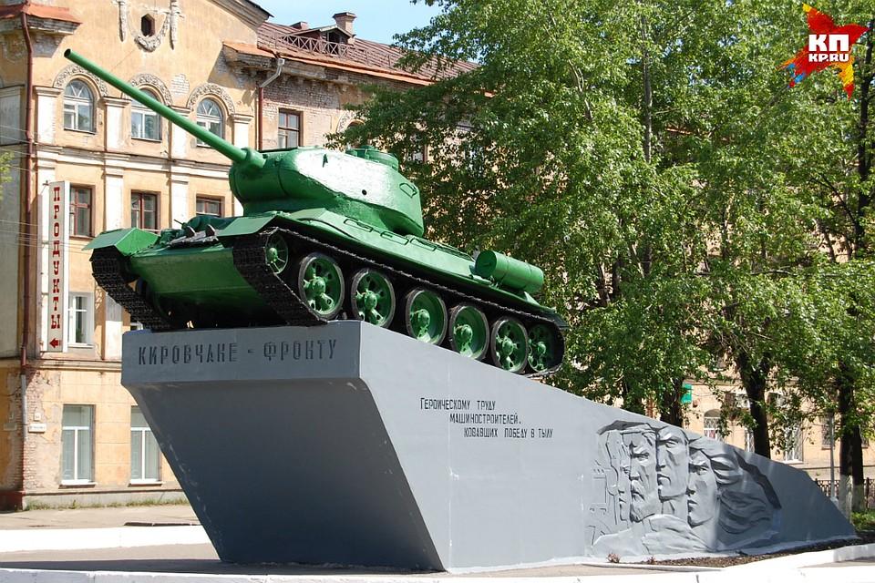 Танк наОктябрьском проспекте отреставрируют