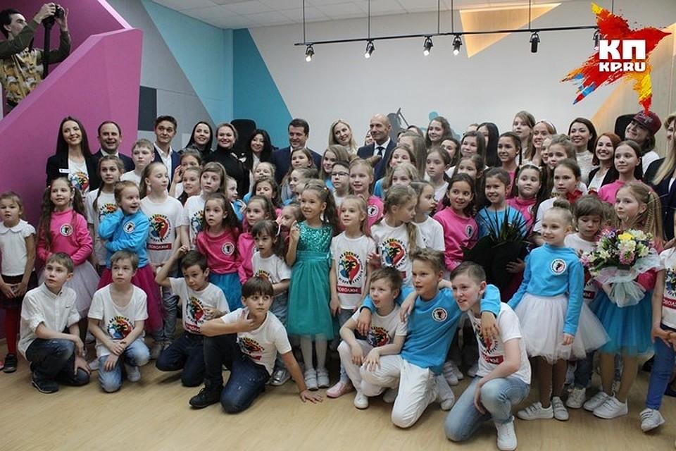 Игорь Крутой открыл вКазани свою детскую музыкальную академию