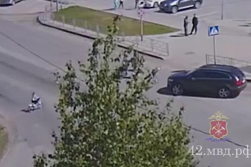 ВКузбассе водителя Ауди Q7 осудят засбитую семилетнюю велосипедистку