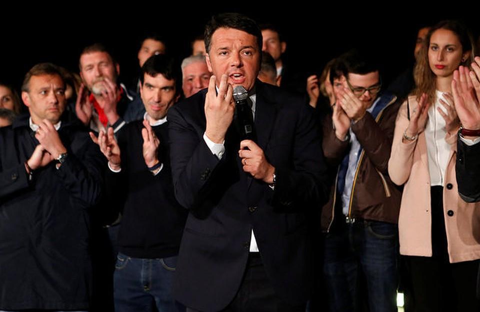 Экс-премьера Маттео Ренци переизбрали лидером Демпартии Италии