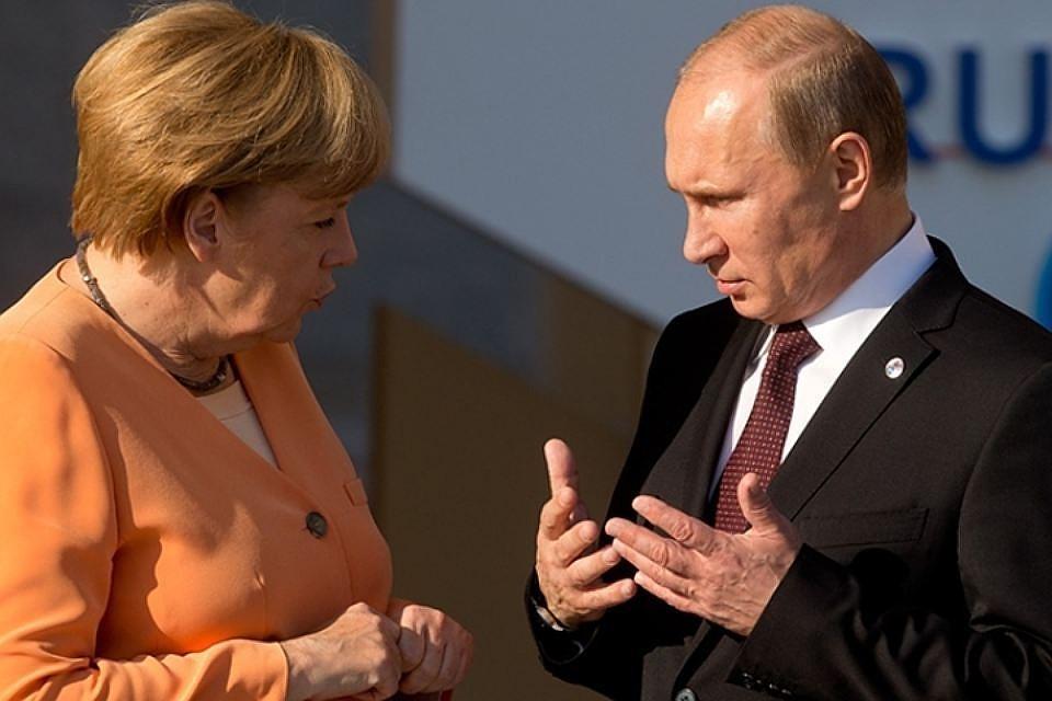 Меркель задела навстрече сПутиным проблему геев вЧечне