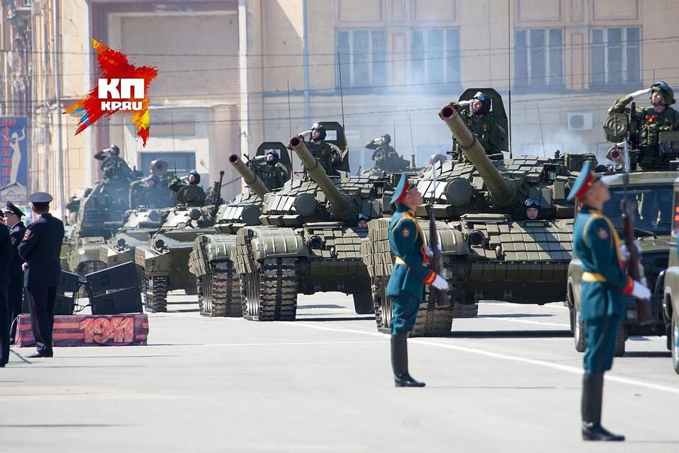 ВДень Победы вЕкатеринбурге случился транспортный коллапс