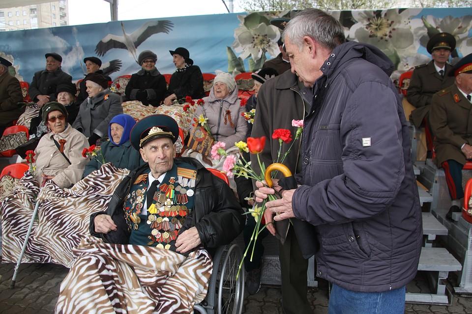 Минувший День Победы встолице стал самым холодным с1945 года