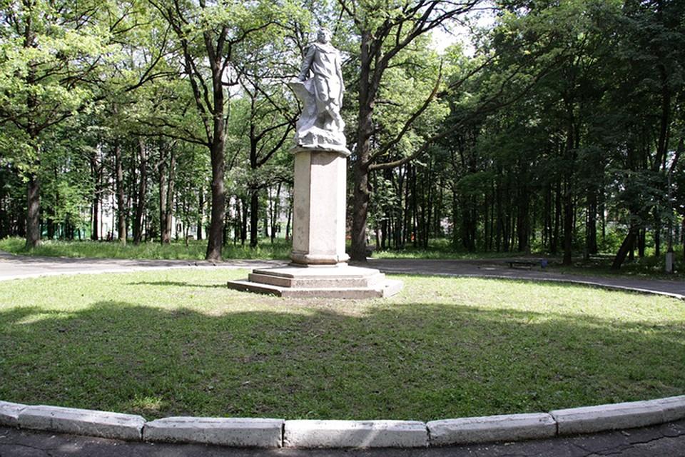 Пушкинский парк вБежице будет благоустроен в 2017-ом году
