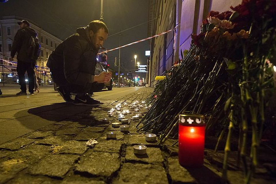 ФСБ задержала вероятного сообщника исполнителя теракта вПетербурге