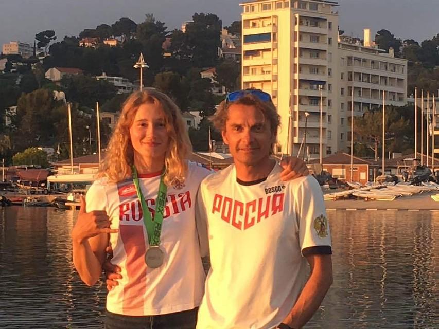 Стефания Елфутина завоевала «серебро» чемпионата Европы попарусному спорту