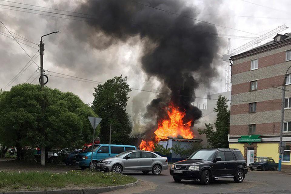 Свидетели проинформировали опострадавших вовремя пожара вБрянске