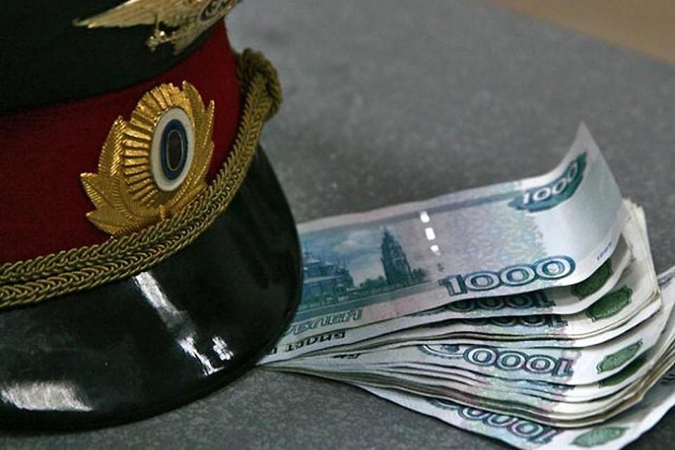 Полицейский Новороссийска попался навымогательстве взятки в млн. руб.