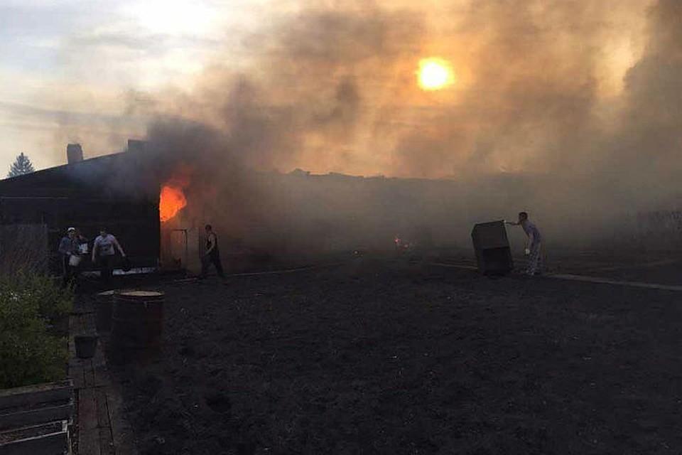 ВЛесосибирске пожарные предотвратили техногенную катастрофу