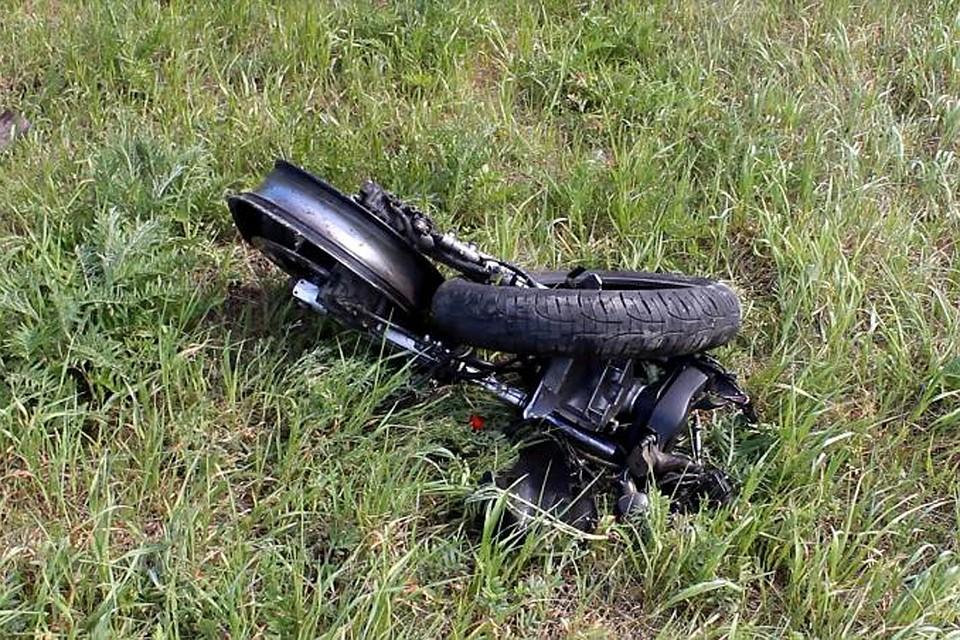 Мужчина иженщина намотоцикле погибли вчера натрассе Бийск— Белокуриха