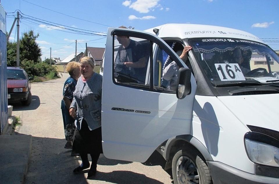 Поселок Татьянка-1 будут обслуживать новые автобусы №16а