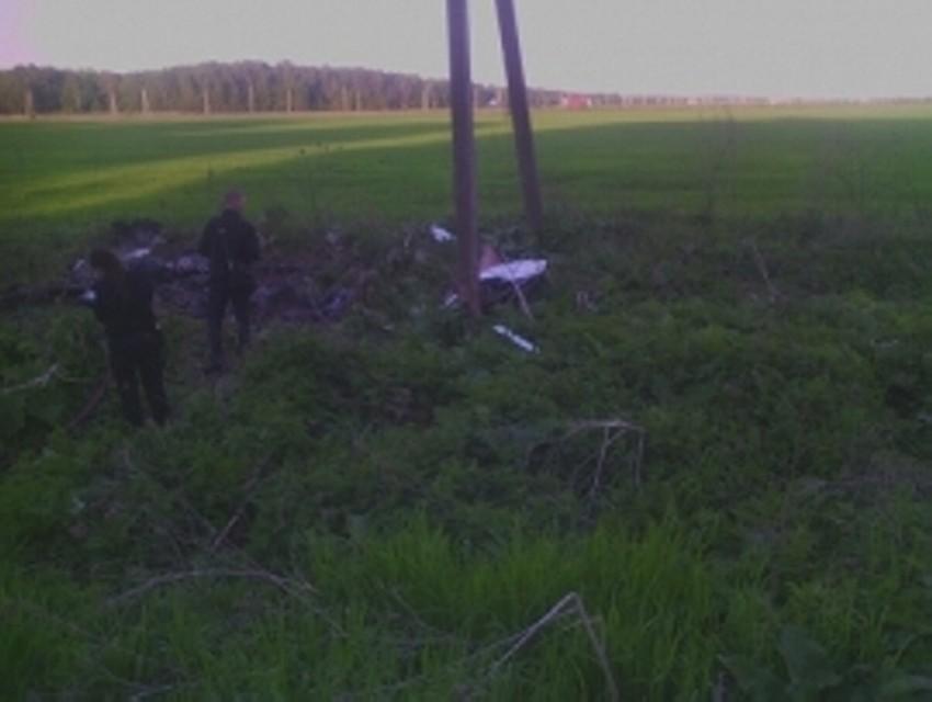 СКначал проверку пофакту падения самодельного самолёта вРязанской области