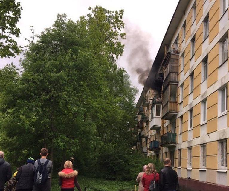Изгорящей квартиры наОрджоникидзе спасли ребенка