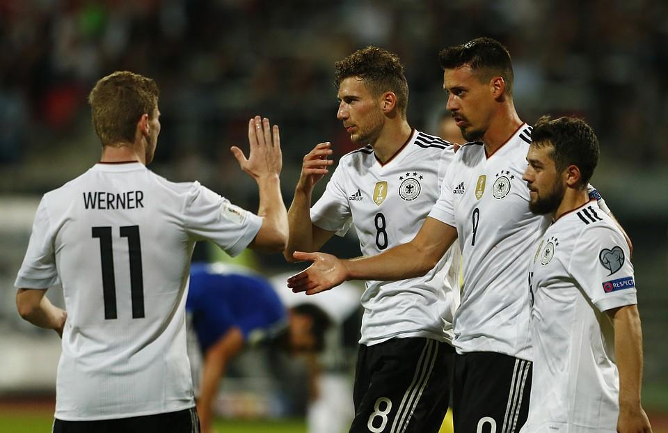 Австралия: Асамоа, Брешиано иСаморано посетят матч Кубка конфедераций Германия