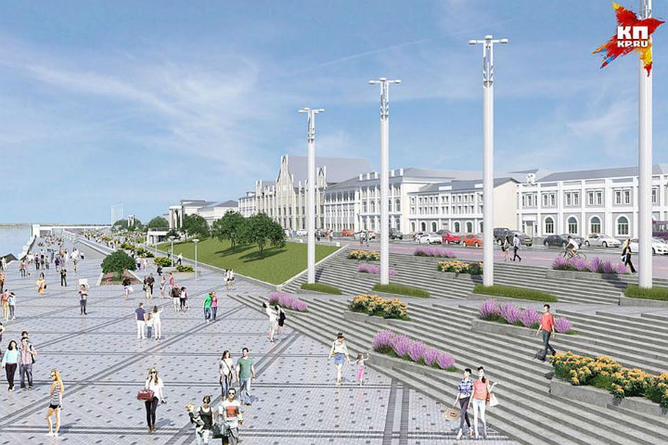 Благоустройство Нижне-Волжской набережной начнётся через 10 дней