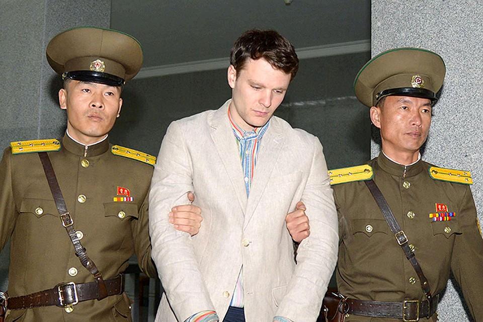 Американца схватили, когда он сорвал плакат в гостинице, судили и дали ему аж 15 лет каторжных работ по обвинению в «попытке подорвать единство корейского народа»
