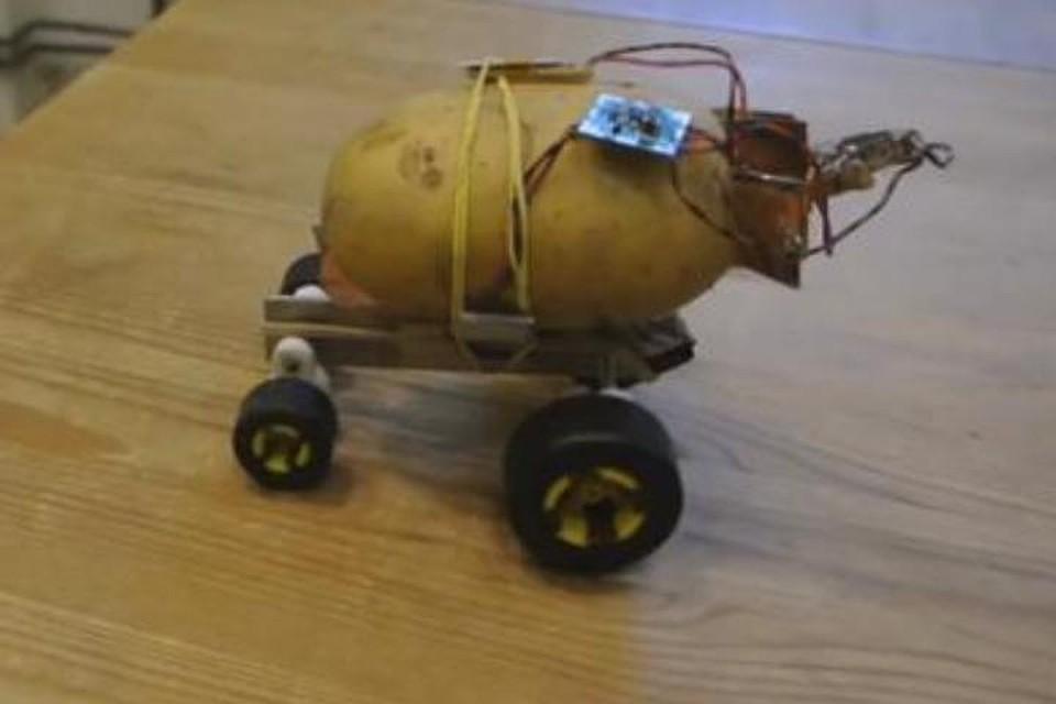 Польский инженер создал беспилотного робота изкартофелины