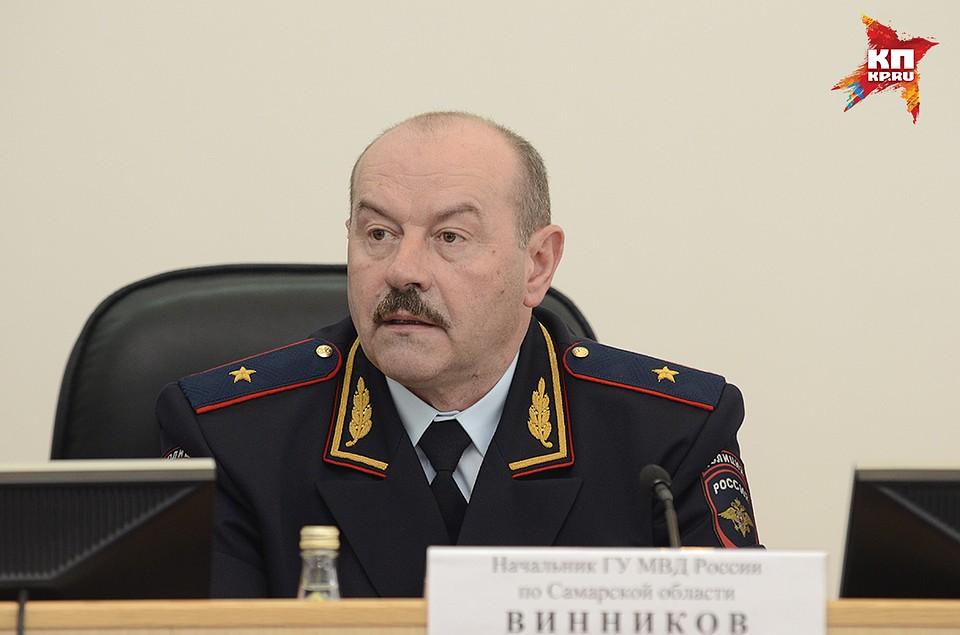 ВСамаре представили нового начальника полицейского главка