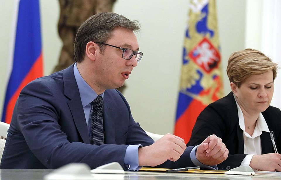 Президент Сербии объявил о значимости поставок русского оружия