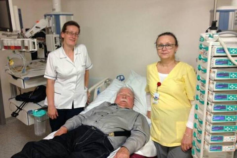 Экс-президент Польши Лех Валенса госпитализирован вГданьске