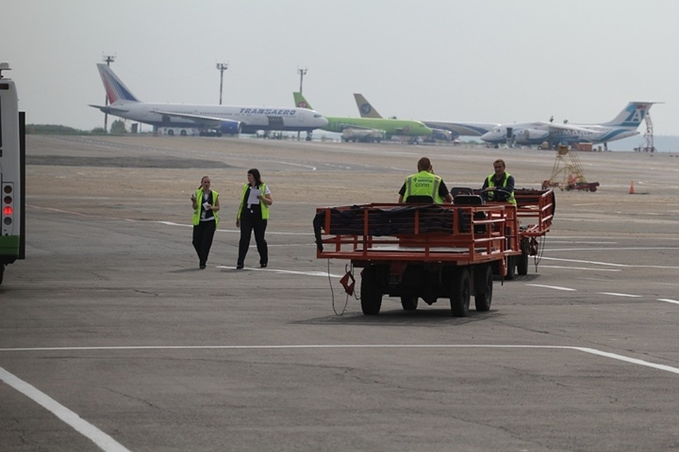 Сильные дожди размыли взлетную полосу аэропорта вБодайбо