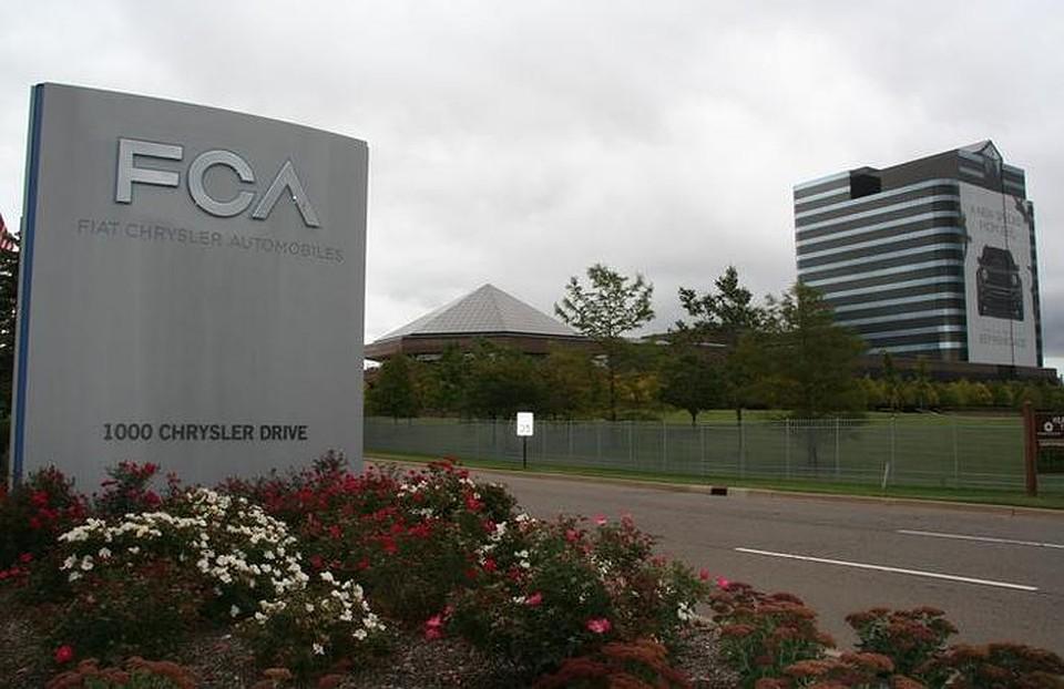 Концерн Фиат Chrysler отзывает неменее 1 млн машин