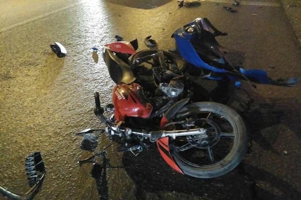 ВПерми школьник наскутере попал в трагедию
